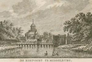 Koepoort met bruggetje 1790-1791